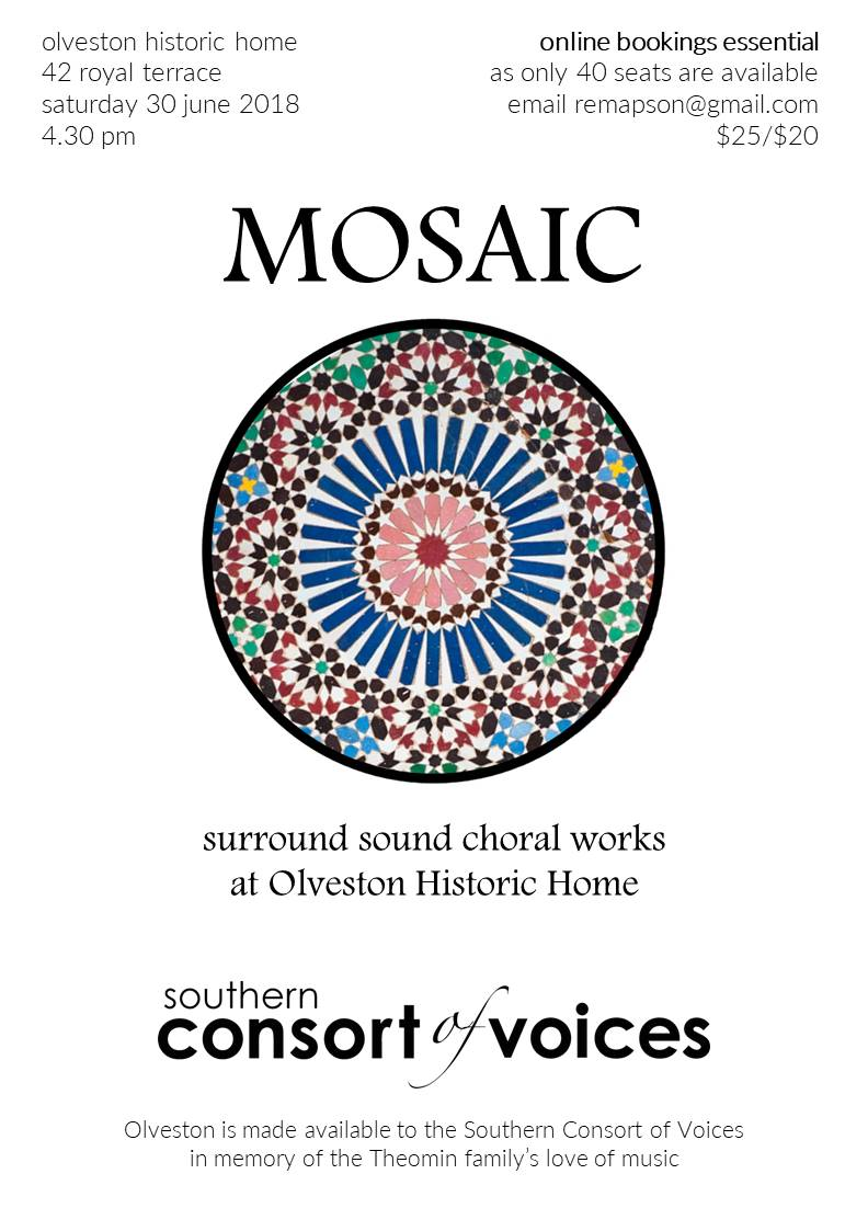 Recent Concerts | Southern Consort of Voices